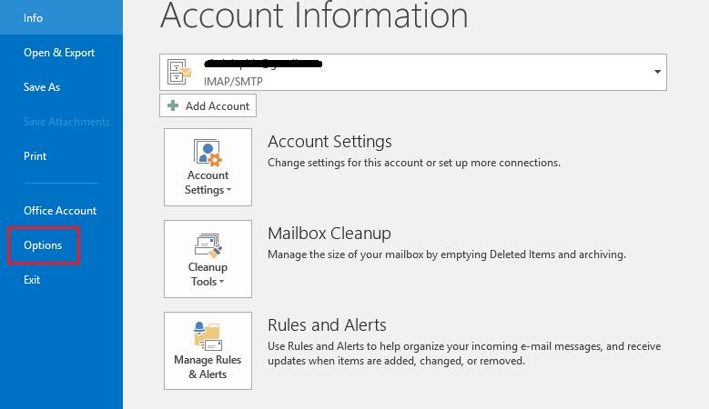 Fix Outlook Send/Receive Error 0x80004005: The operation failed