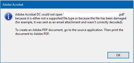 Open source pdf repair tool