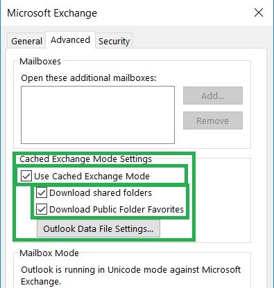 Fix Outlook Shared Mailbox Synchronization Issue