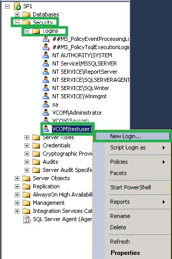 Choose the desired login account