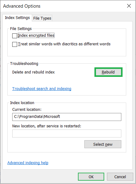 Delete the older troubleshoot and create a new one