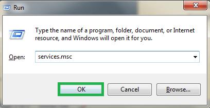 Run the Windows run box (Windows+R), type services.msc