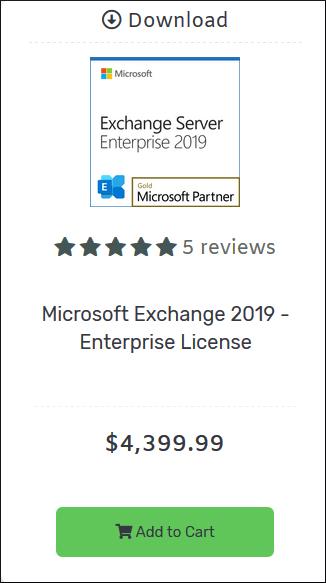 Exchange Server 2019 Enterprise