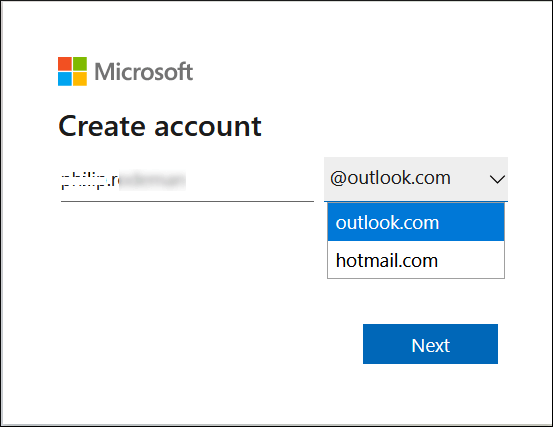 Provide a name to your account