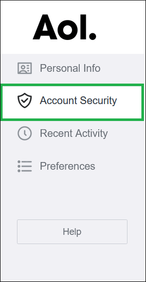 Select Account Security