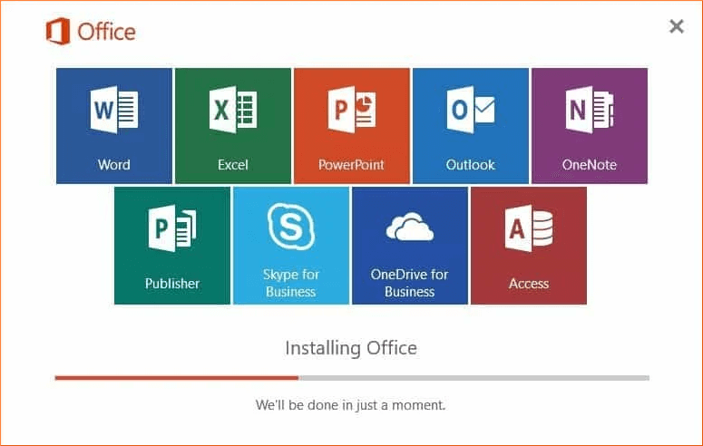 Entire Office will install again during the Online Repair