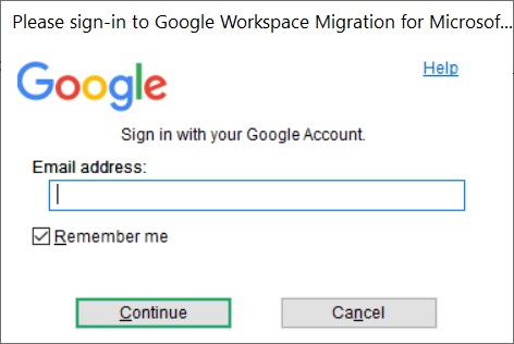 Requires the credential details of Exchange and Google accounts