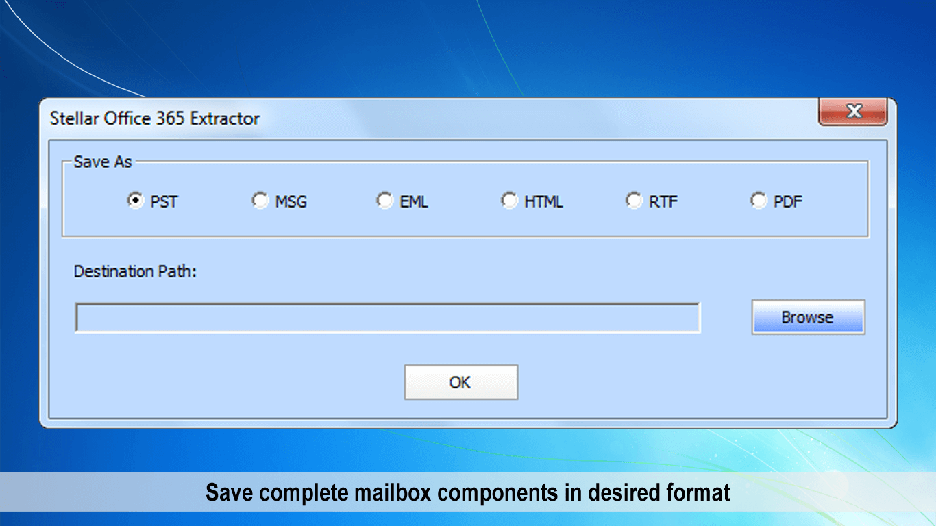 Saving mailbox components